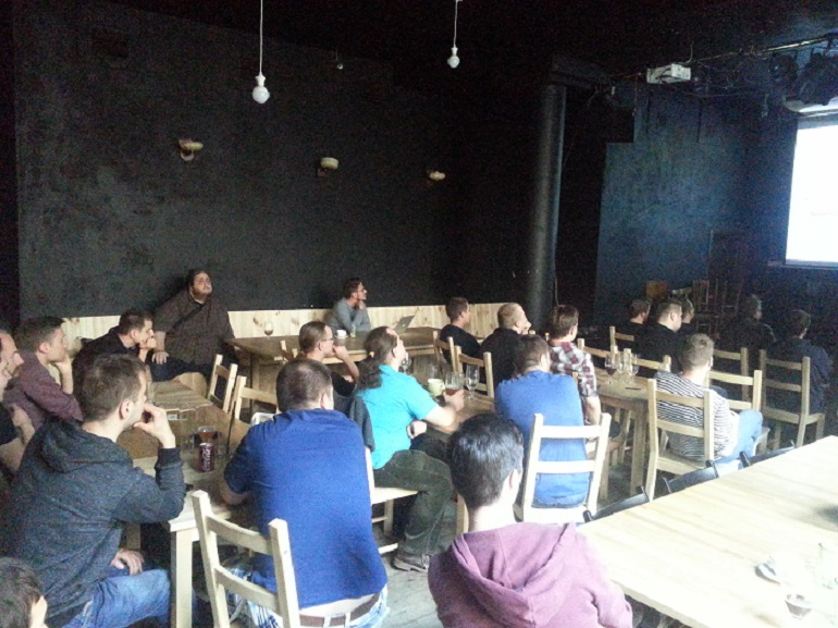 Clearcode's Beer and Bacon Meetup