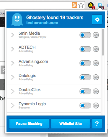 ghostery tracker