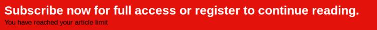 The Economist ad blocker subscription notice