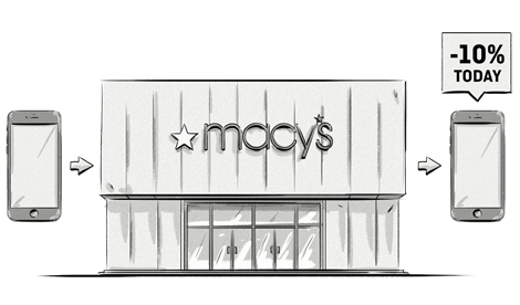 Thanks to beacons, retailers like Macy's have a new channel to engage with customers.