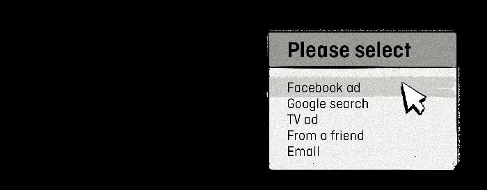 Online and point of sale (POS) surveys for online-offline attribution