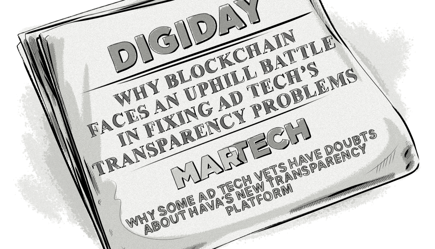 Transparency in Ad Tech Digiday MarTech Today