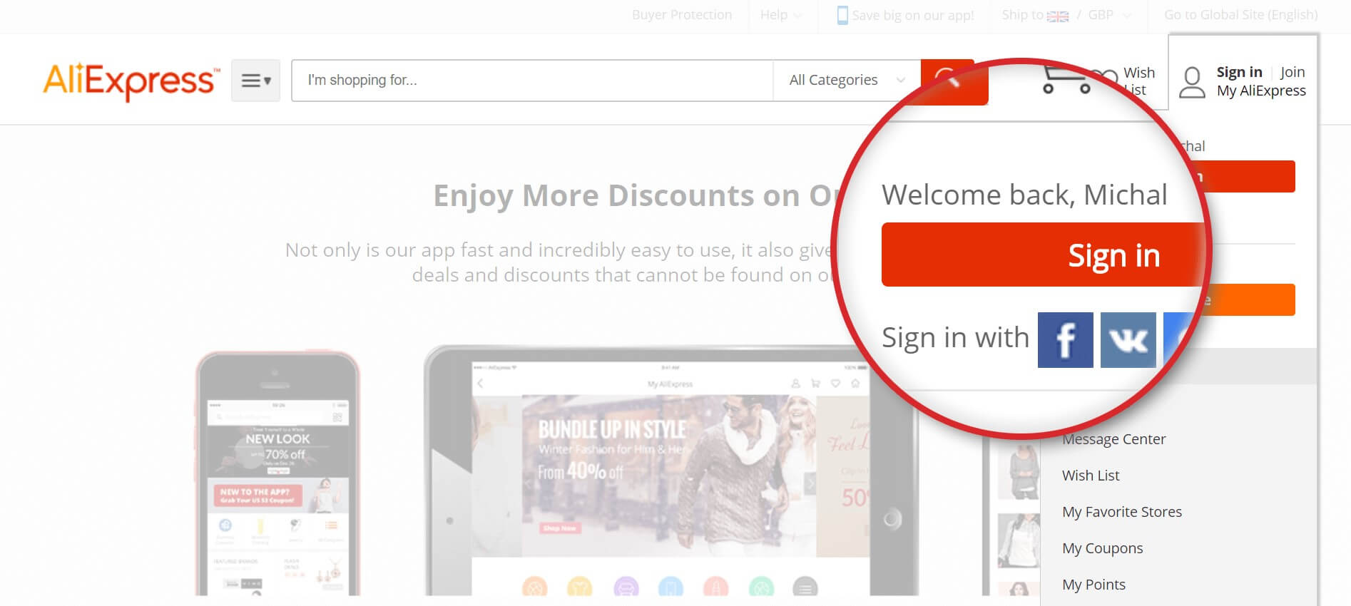 aliexpress rules based content personalization