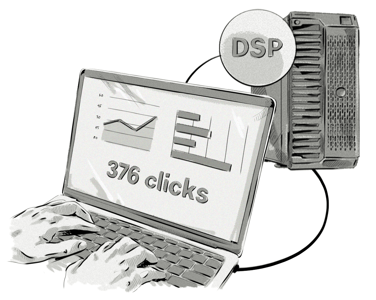 Once you've integrated the DSP with the SSP or ad exchange, you need to test the integration