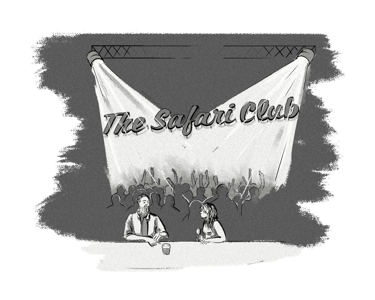 Clearcode Cartoon #1: The Safari Club