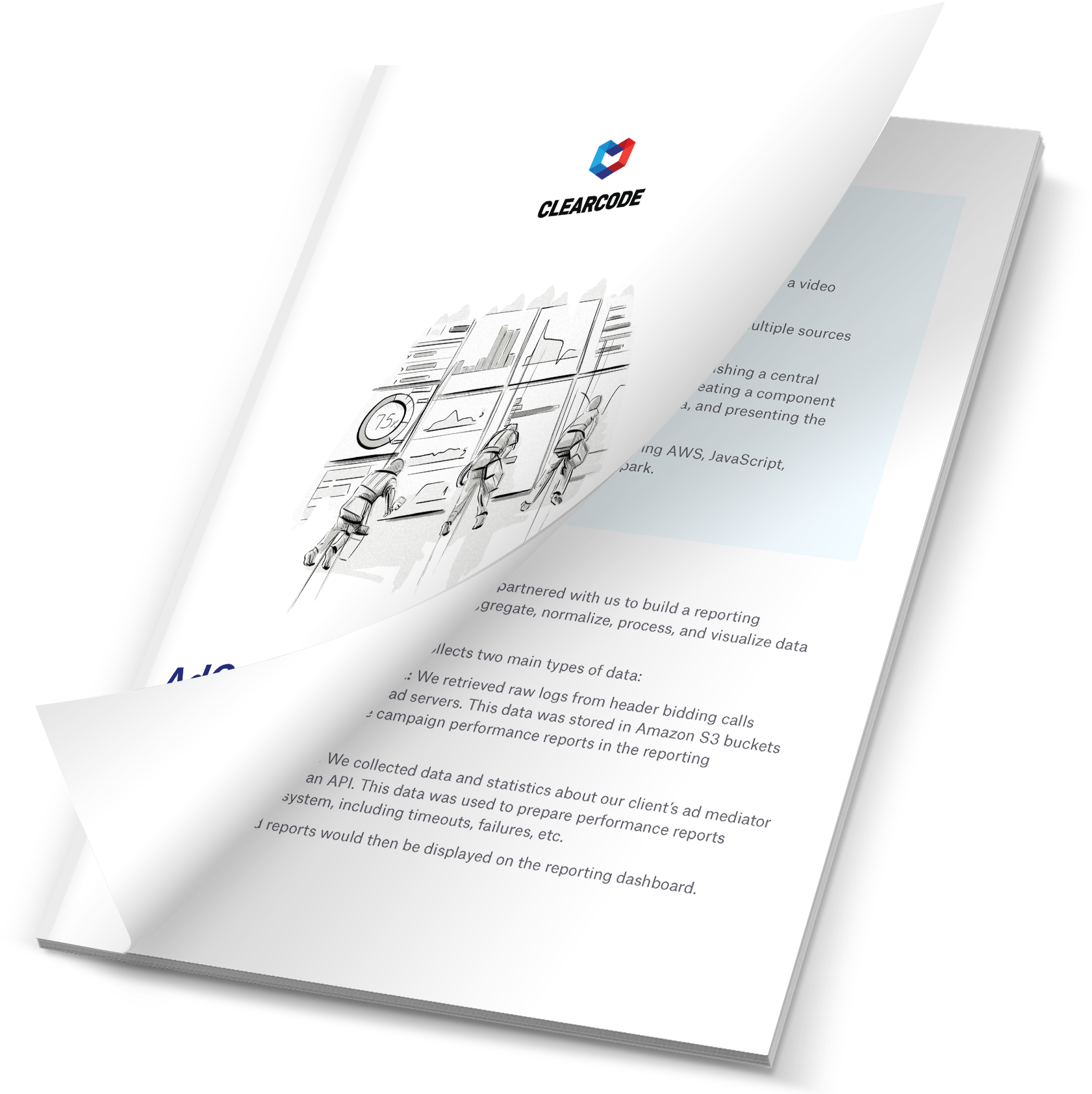 AdOps reporting dashboard case study PDF