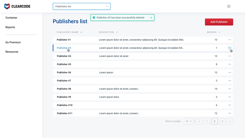 Clearcodes-Header-Bidding-Control-Center-publisher-list